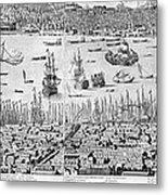 Constantinople, 1713 Metal Print