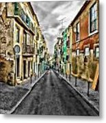 Cores De Lisboa - Lisbon Colors Metal Print