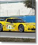 Corvette Racing C6r Metal Print