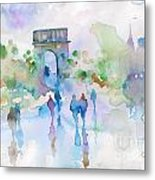Couleurs De Paris Metal Print