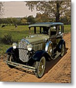 Country Road Metal Print by Harry West