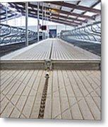 Cowshed Dung Scraper Metal Print by Jaak Nilson