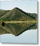 Cromwell Dam Reflections Metal Print