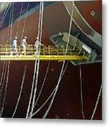 Crude Oil Tanker Metal Print