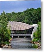 Crystal Bridges Museum Metal Print