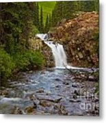 Crystal River Waterfall Metal Print