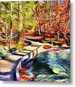 Cunningham Falls Walkway Metal Print