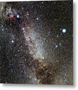 Cygnus And Lyra Constellations Metal Print by Eckhard Slawik