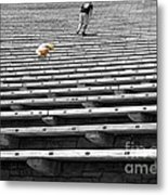 Daddy - Wait For Me  Metal Print