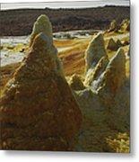 Dallol Geothermal Area, Danakil Metal Print
