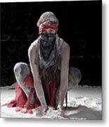 Dancing In Flour Series Metal Print