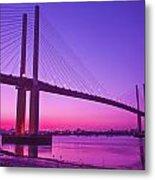 Dartford Bridge Metal Print