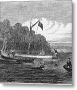 David Livingstone (1813-1873) Metal Print by Granger