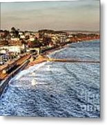 Dawlish Sea Wall Metal Print