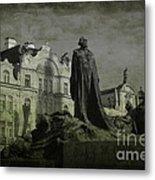 Death In Prague Metal Print by Lee Dos Santos
