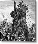 Death Of Eleazar Metal Print