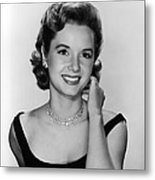 Debbie Reynolds, 1956 Metal Print by Everett