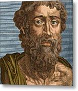 Demosthenes, Ancient Greek Orator Metal Print