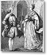 Denis Diderot (1713-1784) Metal Print
