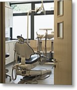 Dentist Chair Metal Print