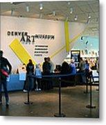 Denver Art Museum 2010 Metal Print
