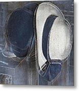 Deux Chapeaux Metal Print