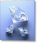Diamonds Metal Print by Lawrence Lawry