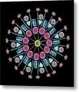 Diatom Assortment, Sems Metal Print by Steve Gschmeissner