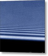 Diffraction Of Laser Beam Metal Print