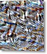Digital Fall Metal Print