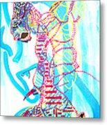 Dinka Angel Bride - South Sudan Metal Print