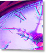 Distorted Time Metal Print