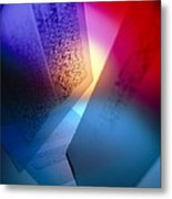 Dna Fingerprints: Banding On Dna Autoradiograms Metal Print