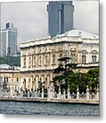 Dolmabahce Palace In Istanbul Metal Print