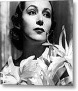 Dolores Del Rio, Portrait Ca. 1934 Metal Print