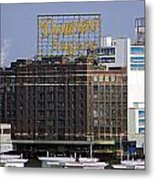 Domino Sugars Metal Print