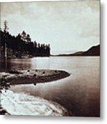 Donner Lake - California - C 1865 Metal Print