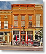 Downtown Perrysburg Metal Print