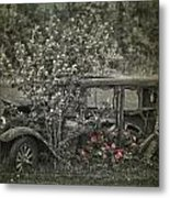 Driven To Find Love  Metal Print