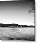Dryden Lake New York Metal Print