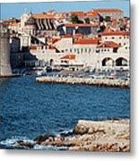 Dubrovnik Old City Architecture Metal Print