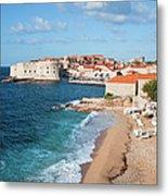 Dubrovnik Scenery Metal Print