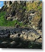 Dunluce Castle, Co Antrim, Ireland Metal Print
