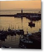 Dunmore East, Co Waterford, Ireland Metal Print