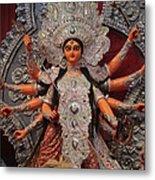 Durga Goddess 2012 Metal Print by Rajan Advani