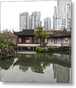 East Meets West Architecture Metal Print