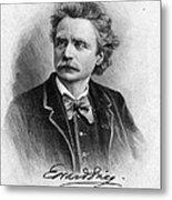 Edvard Grieg (1843-1907) Metal Print