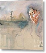 Egyptian Dream 1  Metal Print