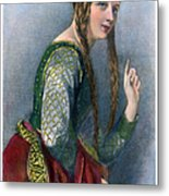 Eleanor Of Aquitaine Metal Print