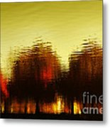 Eleven Shades Of Red Metal Print